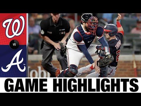 Nationals vs. Braves Game Highlights (9/9/21) | MLB Highlights