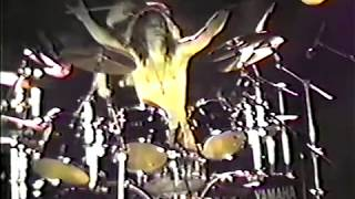 THE BEST  DOUBLE BASS DRUM SOLO STEVEN ANDERSON 1989