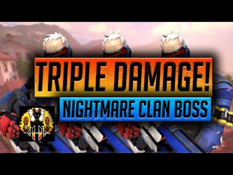 RAID: Shadow Legends | TRIPLE NIGHTMARE CLAN BOSS DAMAGE! NEW RECORD FOR FLAT STATS ON AN ACCOUNT!
