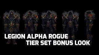 [Legion Alpha] Rogue Tier set bonuses - How They Play - world of warcraft 7.0