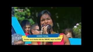 """Cantora NOA """"P`ra lá do cais"""" na Anadia no Verão Total da RTP 2015 Info: Para Festividades"""""""