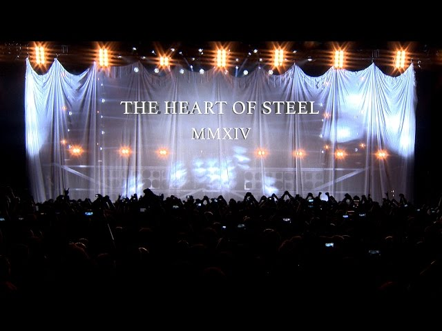 Video oficial de Heart of the steel de Manowar