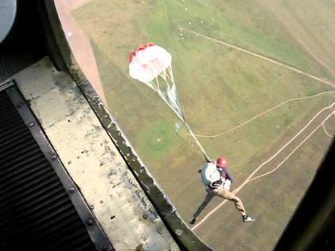 The 1st parachute jump – the 2nd six (DZ Sutiski, Ukraine, 22.08.2010)