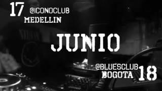 INSANE TECHNO presenta desde Italia, ANGY KORE TOUR COLOMBIA