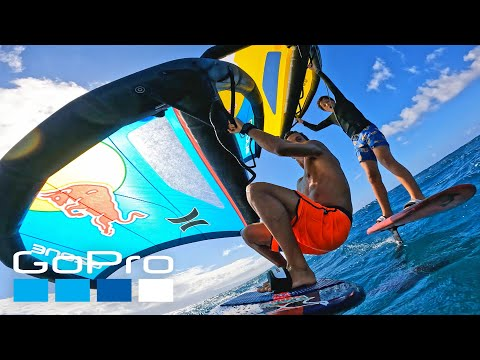 GoPro: HERO10 Black   Wing Foiling with Kai Lenny in Hawaii