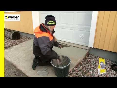 Reparation af betonrampe / Gør det selv / Byglet.dk