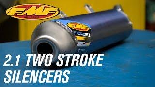 FMF 2.1Two Stroke Silencers