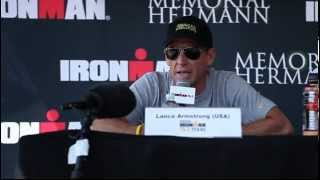 Lance Armstrong on Triathlon Training
