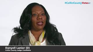Danyell Lanier Collin County Judge Democrat