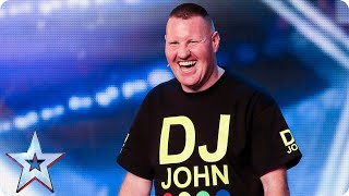 You'll NEVER guess what DJ John's act is?   Britain's Got Talent 2015
