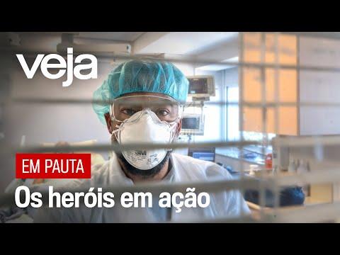 Coronavírus: A rotina dos médicos do Hospital Albert Einstein SP, na luta contra o avanço do Covid-19