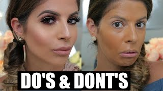 Makeup DO'S and DONTS | Foundation & Primer  | Laura Lee width=