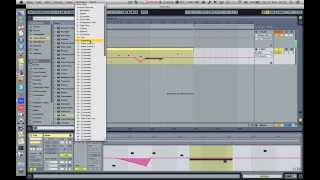 Automating Pitch Bend, Mod Wheel, etc.. in Ableton