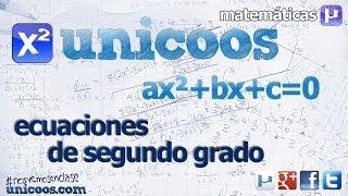 Imagen en miniatura para Ecuaciones de segundo grado