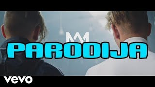 MARCUS & MARTINUS - MAKE YOU BELIEVE IN LOVE (PARODIJA)