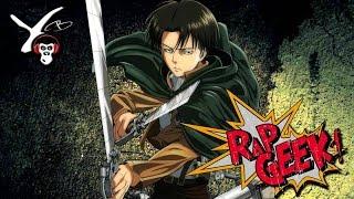 "RAP Anime #20 | Levi Ackerman  (Attack On Titan) ""Luto pelos meus"" - Yuri Black"
