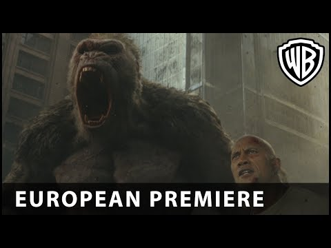 Proyecto Rampage - Premiere Europea con Dwayne Johnson