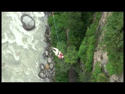 Highest Canyon Swing in the World (The Last Resort, Nepal)
