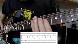 David Guetta & Kaz James - Blast Off (Guitar Tutorial w/ Tabs)