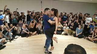 Daniel & Desiree - Don't Let Me Down (Crowd View) | Bachata Fusion |
