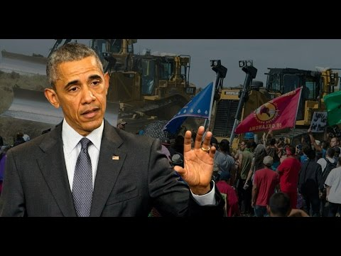 Jordan LOSES IT On Obama's DAPL Cowardice Poster