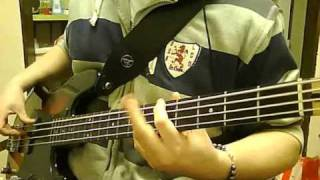 Narcotic Thrust - I Like It (Bass Cover) Bluenessaja