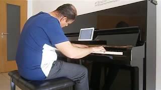 André Vicente Piano - Avião de Papel (Carolina Deslandes)