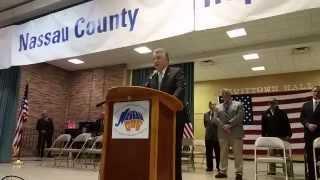 Rep. Pete King Rallies Nassau GOP