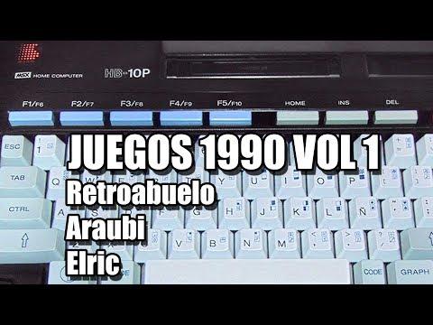 MSX 1990 GAMES VOL 1