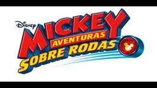 MICKEY AVENTURAS SOBRE RODAS nova série do DISNEY CHANNEL