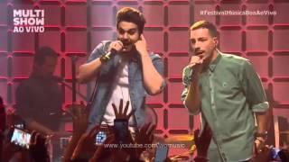 """Cedo ou Tarde - Nx Zero e Luan Santana """"Multishow Música Boa ao Vivo - HD"""