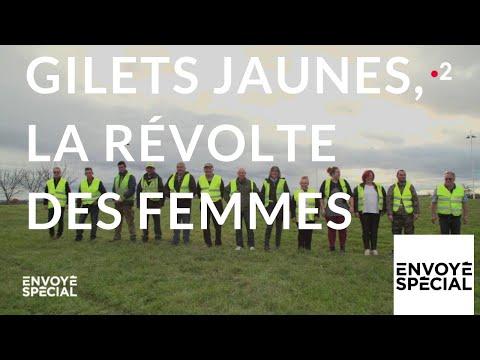 nouvel ordre mondial | Envoyé spécial. Gilets jaunes, la révolte des femmes - 13 décembre 2018 (France 2)