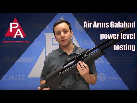 Video: Air Arms Galahad Power Level Testing    Pyramyd Air