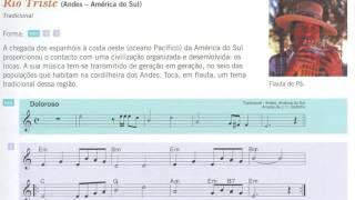 Río Triste - Música dos Andes, para flauta de bisel