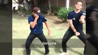 Edson e Vinicius - feinho Gustavo e Kaique