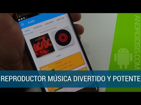 Un reproductor de música para Android divertido y con funcionalidades interesantes