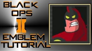 Call of Duty Black Ops 2 : The Crimson Chin Emblem Tutorial