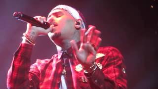 Chris Brown - Don't judge me LIVE