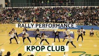 WHS KPOP Club Pep Rally Performance 2018 | Shine + DDU-DU DDU-DU + Cherry Bomb (Crazy Reaction!)