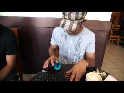 Kamal and Deepak in Starbucks