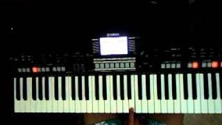 minha benção (video aula - teclado) introdução