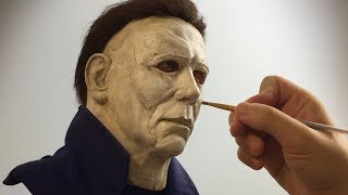 Michael Myers Sculpture Timelapse - Halloween