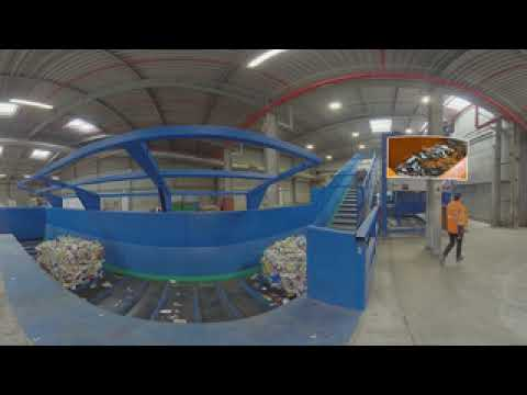 Veolia in 360 Grad – Kunststoffrecyclinganlage Bernburg