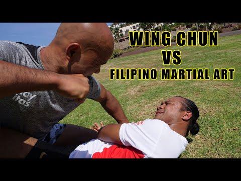 Wing chun vs Filipino martial art
