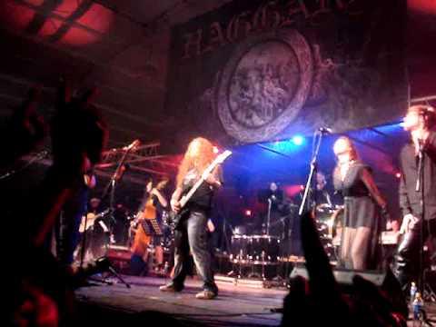 Haggard live El Salvador 20/02/2011-Heavenly Damnation