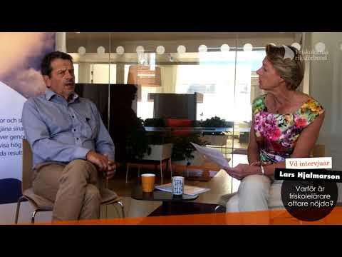 Vd intervjuar Lars Hjalmarson om Jobbhälsobarometern