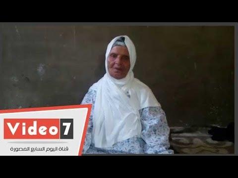 """""""اليوم السابع"""" يرسم البسمة علي وجه سيدة مسنة  تمنت تأدية فريضة العمرة قبل وفاتها"""