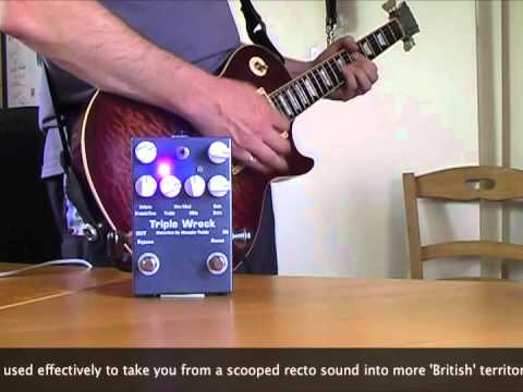 Wampler Pedals: Triple Wreck Distortion (no talk, just play - edit)