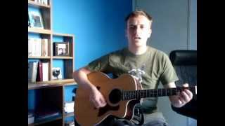 GREG GRAFFIN - Dont' be afraid to run (cover guitar + voice)
