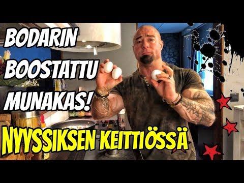 NYYSSIKSEN KEITTIÖSSÄ - BODARIN BOOSTATTU MUNAKAS!